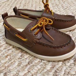 Gap size 8 toddler boat shoes